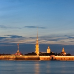 Peter and Paul Fortress skyline