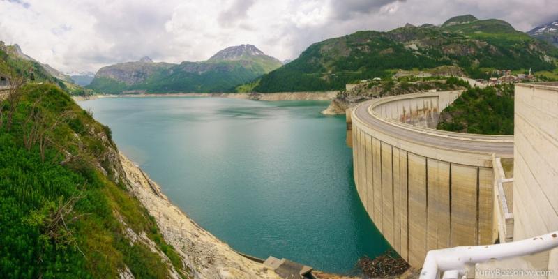00386 panorama lac du chevril dam 1000 yuriy bezsonov 39 s gallery - Lac du chevril ...
