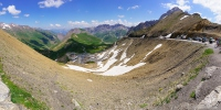 a view from Col du Galibier